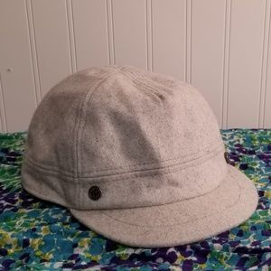 Pistil Wool Blend Short Jockey Style Brim Cap
